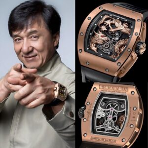 Jackie Chan - Richard Mille RM 57-01 Phoenix And Dragon