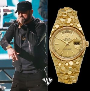 "Marshall Bruce Mathers III, ""Eminem""- Rolex Day-Date"