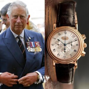 Prince Charles of Wales - Parmigiani Fleurier Toric Chronograph