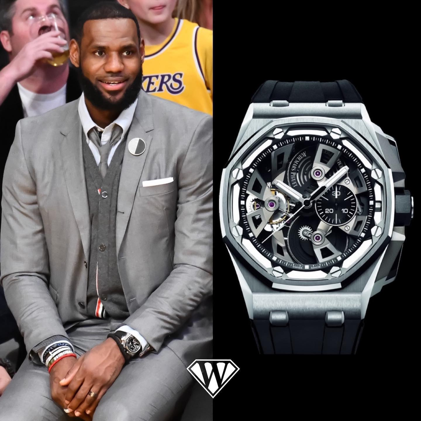 Lebron James Audemars Piguet Royal Oak Offshore Tourbillon