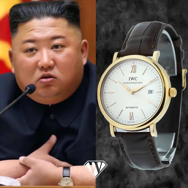 Kim Jong Un Iwc Portofino