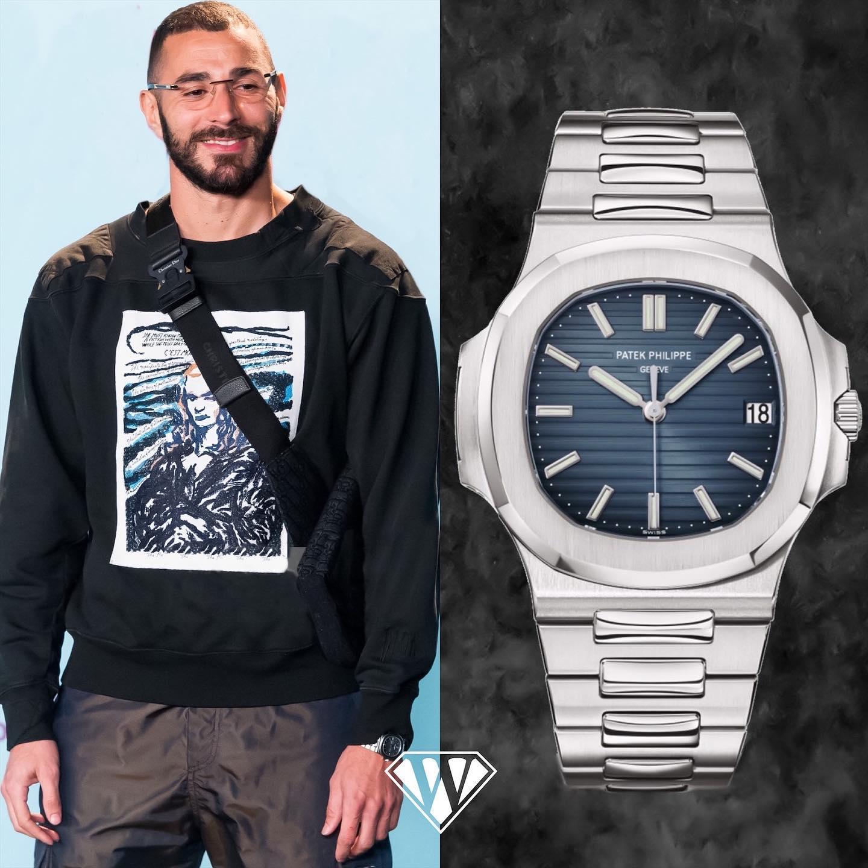 Karim Benzema Patek Philippe Nautilus - Superwatchman