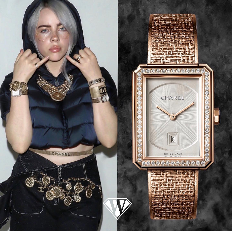 Billie Eilish Chanel Watch
