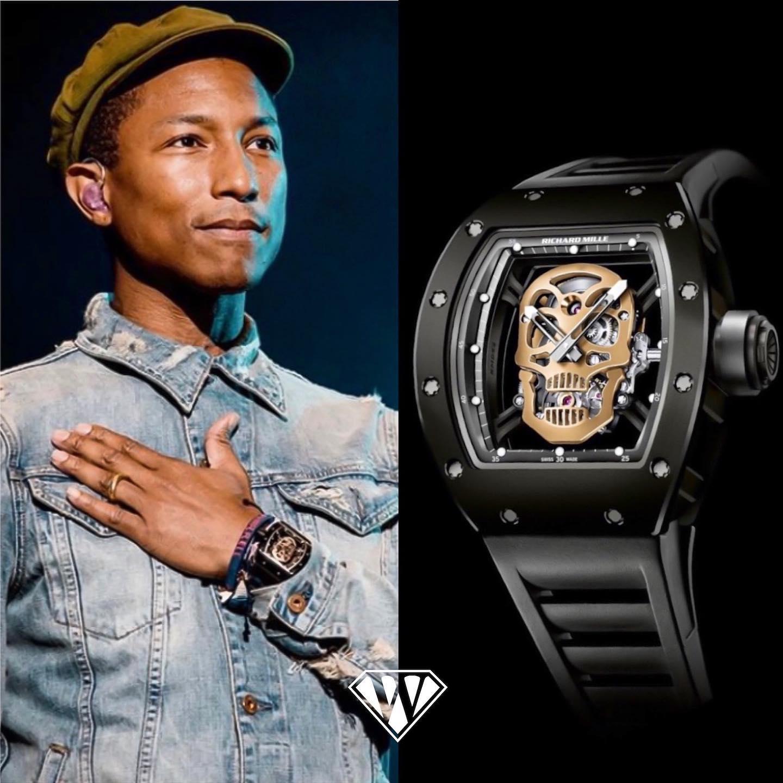 Pharrell Williams Richard Mille Skull