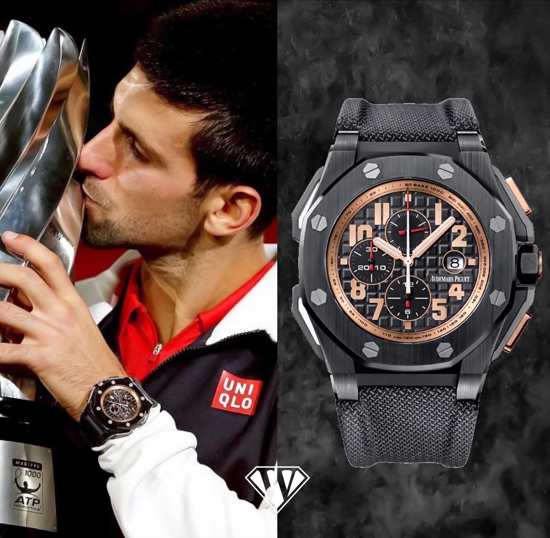 Novak Djokovic Audemars Piguet Watch
