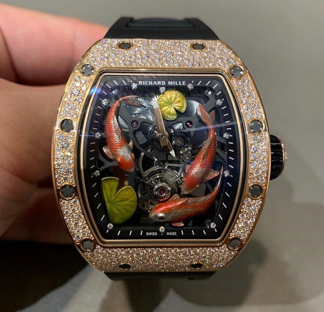 Anant Ambani Richard Mille KoiFish Watch