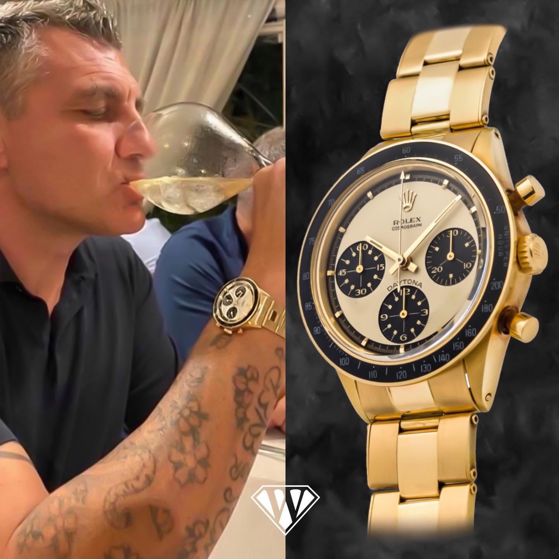 Christian Vieri Rolex Daytona PaulNewman Watch