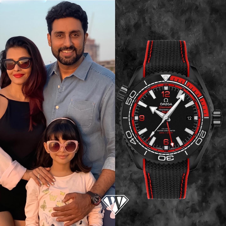 Abhishek Bachchan Omega Watch