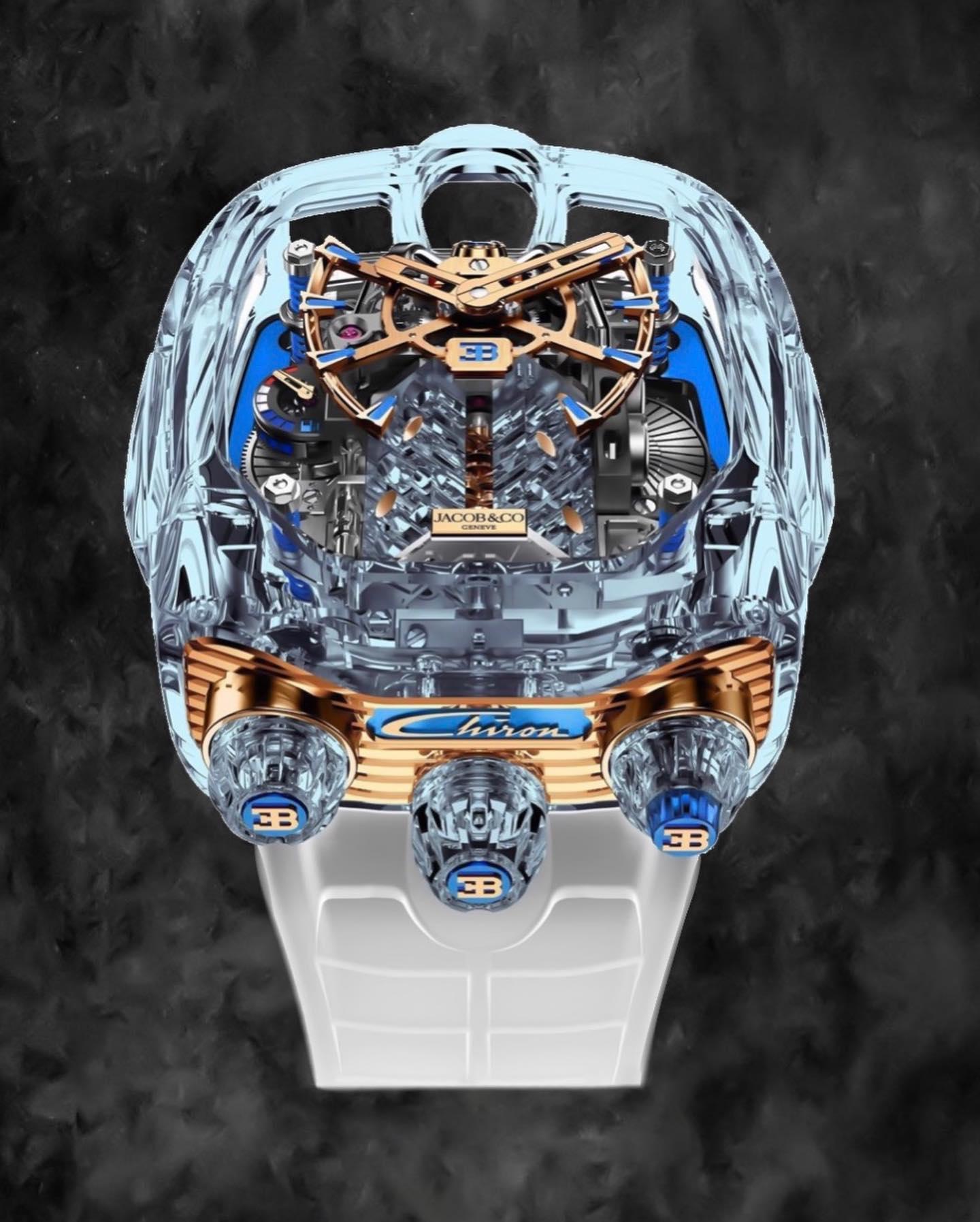 Jacobandco Bugatti Chiron Sapphire Watch