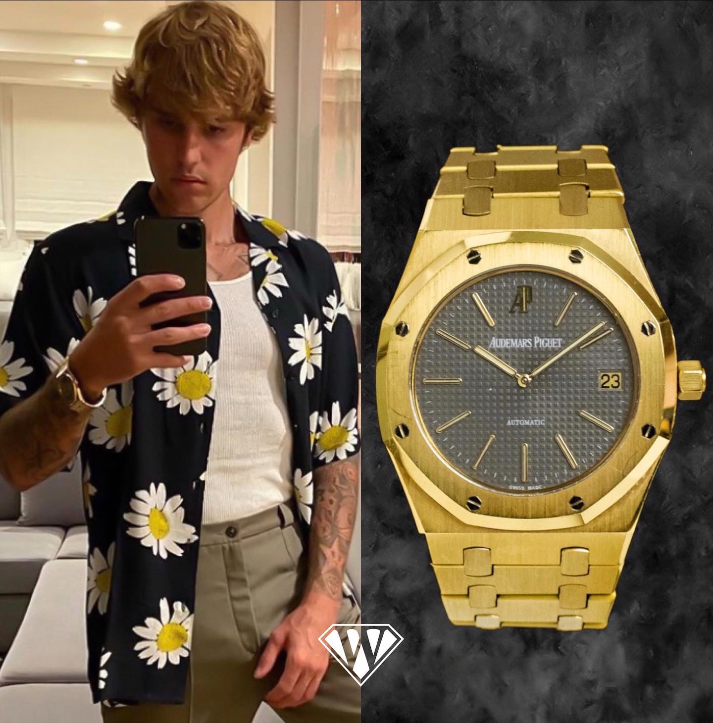 Justin Bieber Audemars Piguet Watch