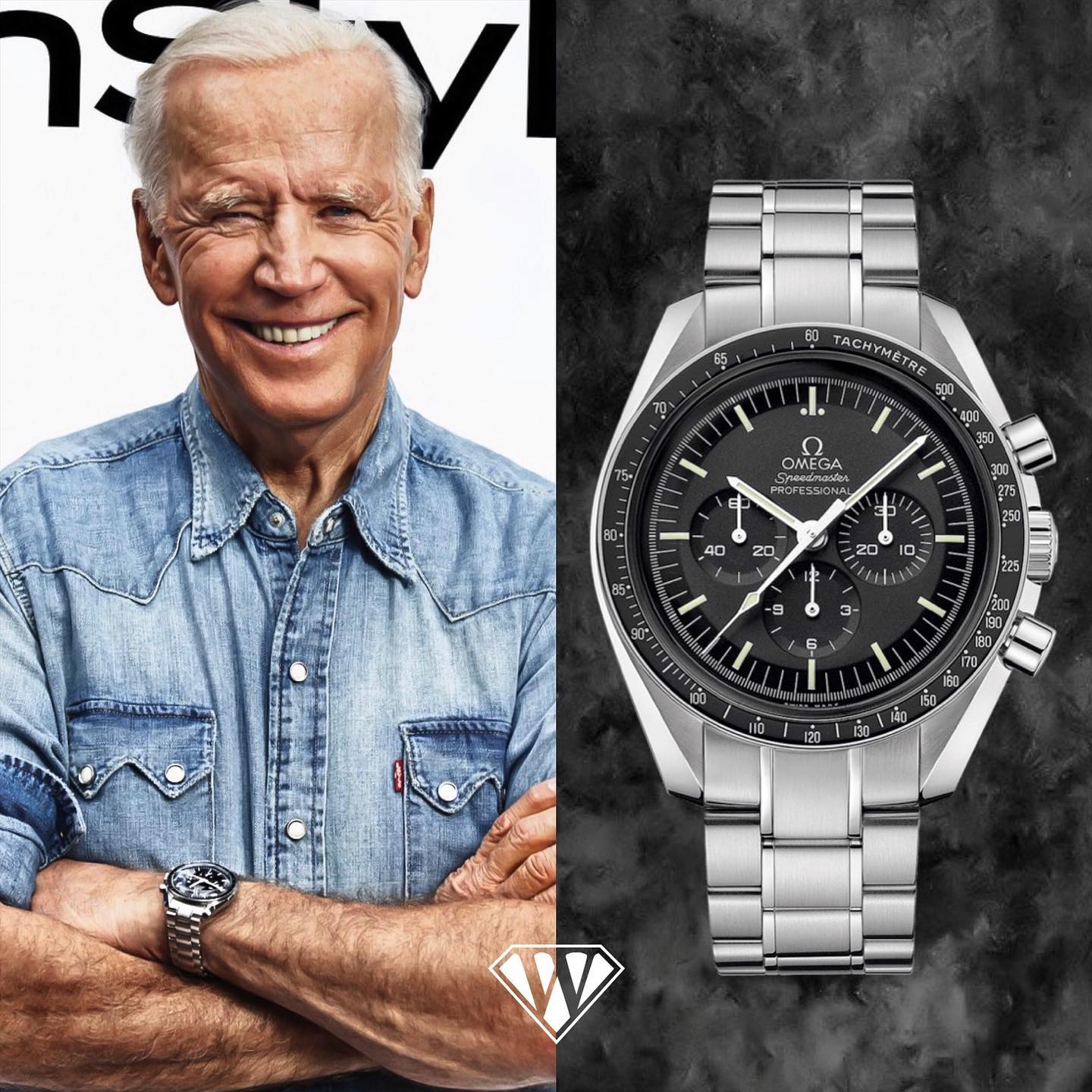 Joe Biden Omega Speedmaster Watch