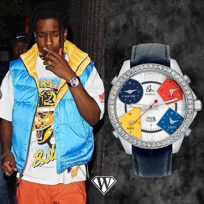 ASAP Rocky Jacobandco Five Timezone Watch
