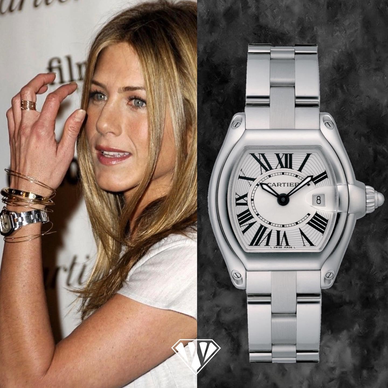 Jennifer Aniston Cartier Roadster Watch
