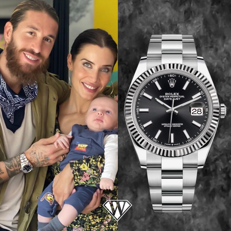 Sergio Ramos Rolex DatejustII Watch
