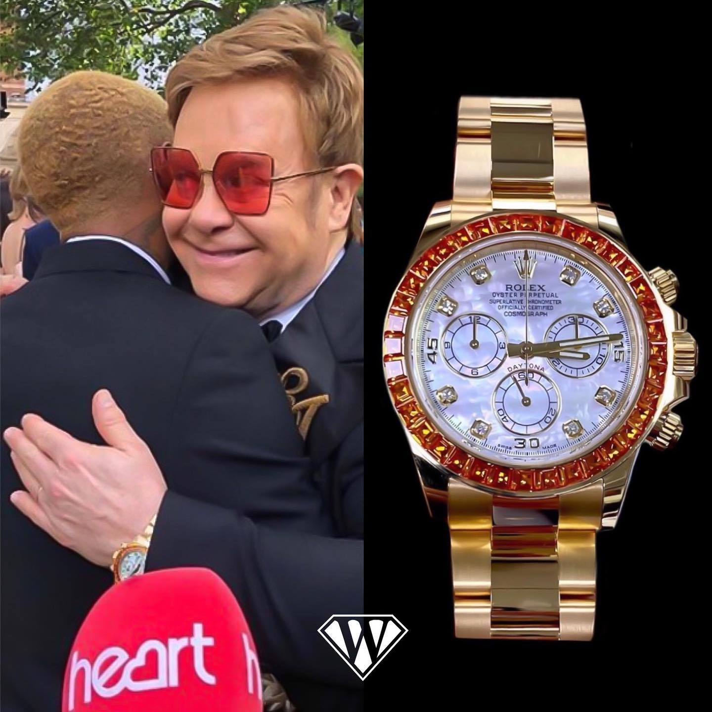 Elton John Rolex