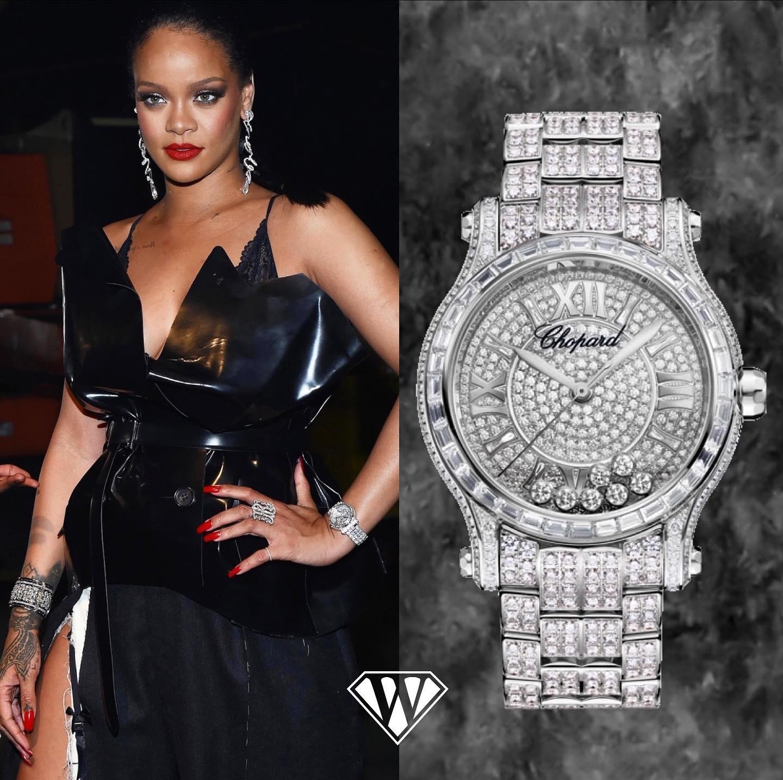 Rihanna Chopard Watch