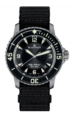 Fifty Fathoms Automatique Titanium / Black / NATO