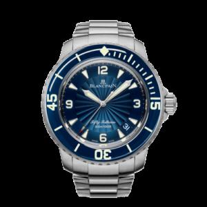Fifty Fathoms Automatique Stainless Steel / Blue / Bracelet