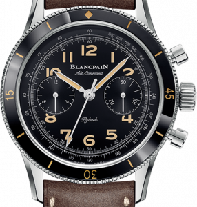 Air Command Stainless Steel / Black / Strap