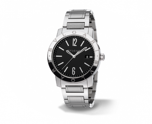 Bulgari Solotempo 41.5 Black Bracelet