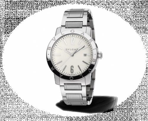 Bulgari Solotempo 41.5 White Bracelet