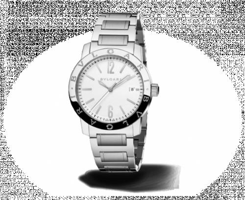 Bulgari Solotempo 39 Silver Bracelet