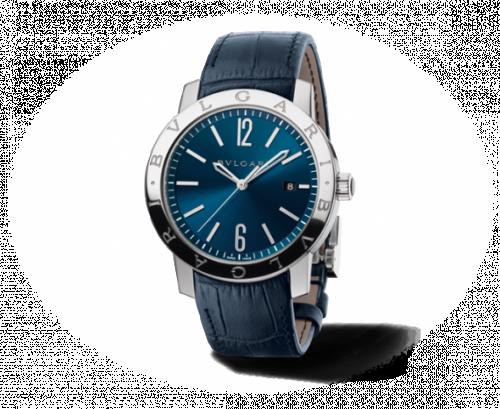 Bulgari Solotempo 41.5 Blue