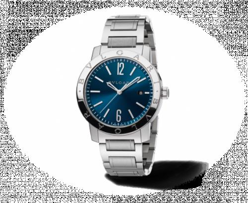 Bulgari Solotempo 41.5 Blue Bracelet
