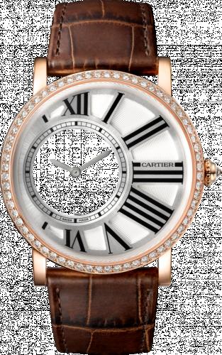 Rotonde de Cartier Mysterious Hour Pink Gold