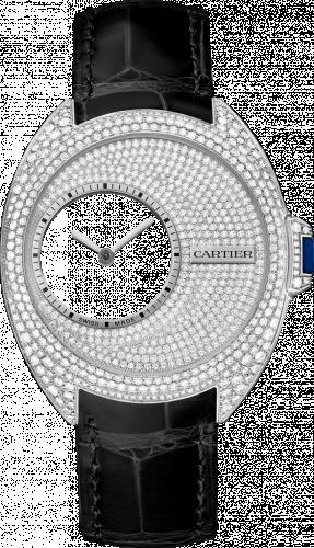 Clé de Cartier 41 Mysterious Hours Palladium / Diamond