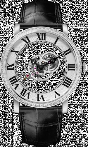 Rotonde de Cartier Astromystérieux Platinum / Baguette