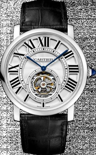 Rotonde de Cartier Flying Tourbillon White Gold / Silver