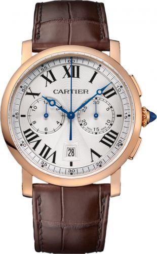Rotonde de Cartier Chronograph Pink Gold / Silver