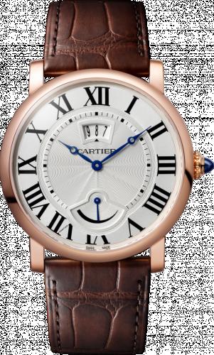 Rotonde de Cartier Calendar Aperture and Power Reserve Pink Gold / Silver