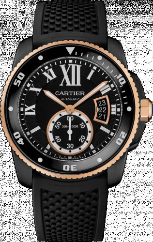 Calibre de Cartier Diver Carbon / Pink Gold