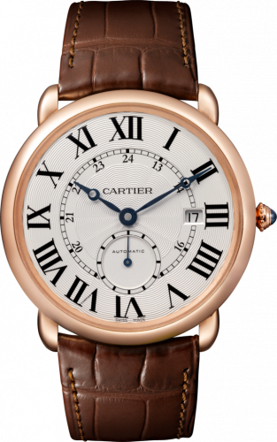 Ronde Louis Cartier Pink Gold / Silver