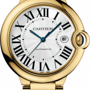 Ballon Blue de Cartier 42 Automatic Yellow Gold / Silver / Bracelet