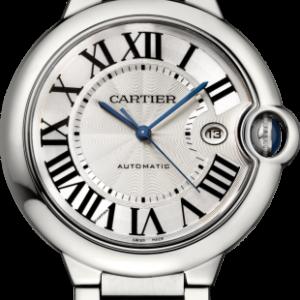 Ballon Blue de Cartier 42 Automatic Stainless Steel / Silver / Bracelet