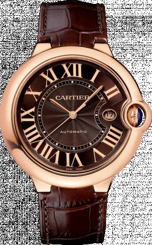 Ballon Blue de Cartier 42 Automatic Pink Gold / Chocolate