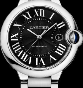 Ballon Blue de Cartier 42 Automatic Stainless Steel / Black / Bracelet