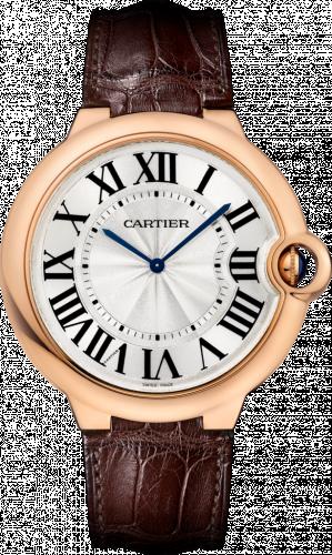 Ballon Blue de Cartier 46 Extra Flat Pink Gold / Silver