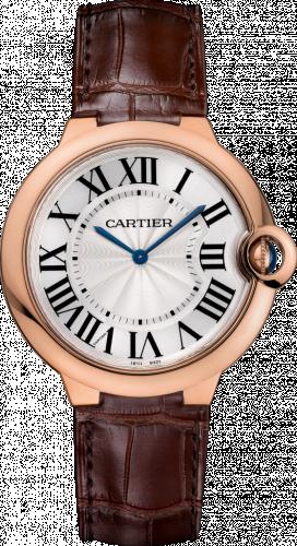 Ballon Blue de Cartier 40 Extra Flat Pink Gold / Silver