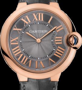 Ballon Blue de Cartier 40 Extra Flat Pink Gold / Grey
