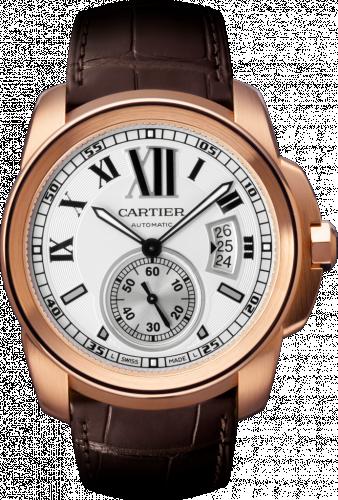 Calibre de Cartier 42 Pink Gold / Silver