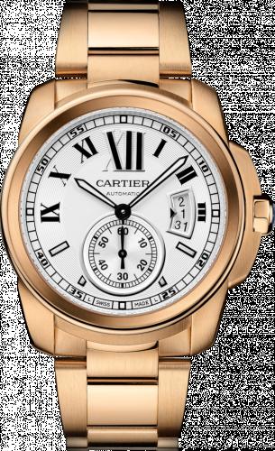 Calibre de Cartier 42 Pink Gold / Silver / Bracelet