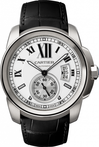 Calibre de Cartier 42 Stainless Steel / Silver