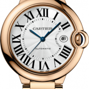 Ballon Blue de Cartier 42 Automatic Pink Gold / Silver / Bracelet