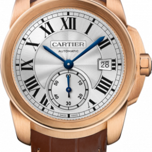 Calibre de Cartier 38 Pink Gold / Silver