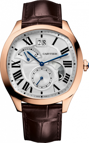 Drive de Cartier Second Time Zone Day / Night Pink Gold / Silver