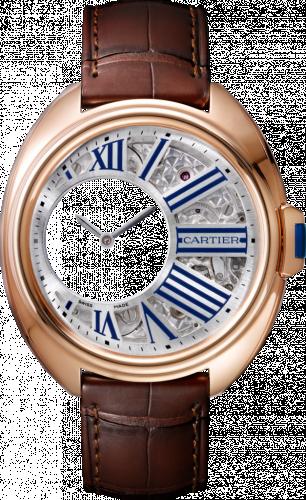 Clé de Cartier 41 Mysterious Hours Pink Gold